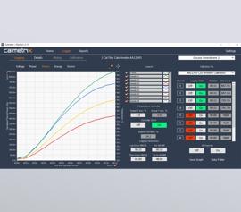 Calmetrix Flexical Software – Geräteansteuerung und Datenlogger