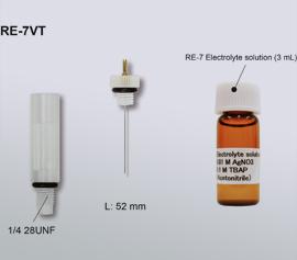 Einschraubbare nicht-wässrigen Referenzelektrode für Durchflusszellen