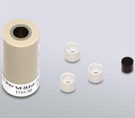 DRE Gold, Platin und Glassy Carbon Replacable Disk Ring-Disk(RRDE)Elektrode für den RRDE-3A Rotator