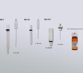 Verschiedene Ausführungen von nicht-wässrigen Referfenzelektroden für unterschiedliche Einsatzzwecke