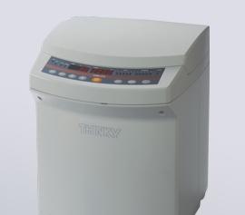 Der ARM-310 Planetenzentrifugalmischer, auch Planetenmischer genannt. width=