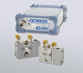 Gamry eQCM 10M für Lithium-Interkalationsgravimetrie, galvanische Metallabscheidung, Materialverlust bei Korrosion, Korrosionsinhibitor-, Polymerisations- und Permeationsstudien
