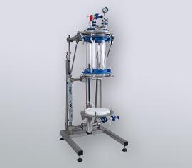 10 Liter Nutschfilter mit abgesenkter Filterplatte