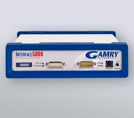 Gamry Interface 5000 Potentiostat/Galvanostat/ZRA für die Applikationen galvanische Beschichtungen (DC), elektrochemische Energiespeicherung und -umwandlung (PWR) sowie Halbleiter, Solarzellen und Sensoren (EIS) incl. schwebende Masse (galv. Trennung von der Schutzerdung)