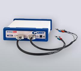 Gamry Interface 5000 Potentiostat/Galvanostat/ZRA mit separaten Hauptzellkabeln für Strom (60cm) und Spannung (60cm) incl. schwebender Masse (galv. Trennung von der Schutzerdung)