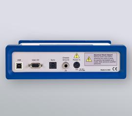 Interface-Geräteserie incl. Analog-Ein- und -Ausgängen und incl. Pt1000 Eingang über das optionale Monitor-Breakout Board (Mini-Din Monitor-Connector)