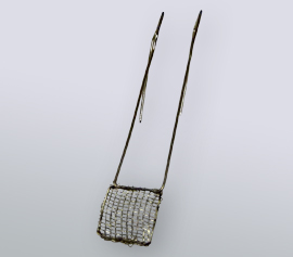 Platinnetz-Arbeitselektrode