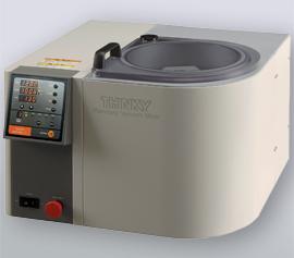 Thinky ARV-310LED: Spezielle Variante des ARV-310 für die LED-Pasten-Produktion mit standfestem Getriebe mit angepasster Übersetzung für hohe Dichteunterschiede