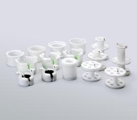 Wir verfügen über eine breite Auswahl an Adaptern für die Thinky Mischer. Hier sehen Sie eine Auswahl für die Laborgeräte.