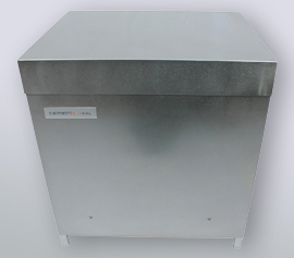 Isothermes 4-Kanal Kalorimeter Calmetrix I-Cal 4000 HPC mit geschlossenem Deckel im Betriebszustand