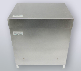 Isothermes Zwei-Kanal Biokalorimeter Calmetrix Biocal 2000 mit geschlossenem Deckel im Betriebszustand