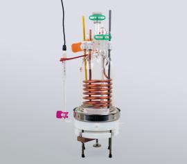"""Messzellen-Set zur Bestimmung der kritischen Lochfraßtemperatur bzw. """"Avesta-Steel"""" Zelle inkl. Infusionsset für entionisiertes Wasser bei langsamen Dosierraten"""