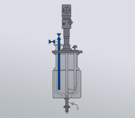 Buchi Accessories for chemical and bio-chemical reactor