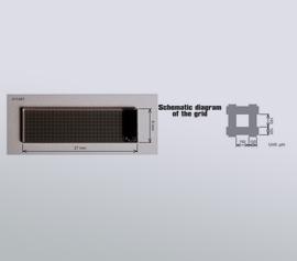 Arbeitselektroden für die Durchfluss-Messzelle SEC-3F mit Gold, Platin, Kohlenstoff oder ITO