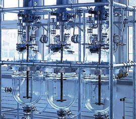 Parallelreaktoren aus Glas