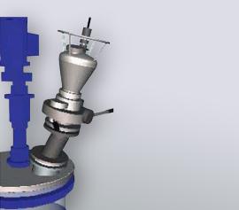 Pulverdosiersysteme, verschiedene Größen und Ausführungen je nach Anwendung