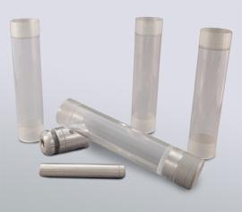 SPEX Kryomühle 6775 Freezer/Mill® - Standard-Mahlgarnitur Polycarbonat, Mahlkapazität 0,1 bis 5 g (Artikel-Nummer 6751), einsetzbar mit allen Freezer/Mill®-Modellen