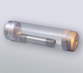 SPEX Kryomühle 6875 Freezer/Mill® - Mittelgroße Mahlgarnitur Polycarbonat, Mahlkapazität 1 bis 40 g (Artikelnummer 6881), einsetzbar über Adapter mit allen Freezer/Mill®-Modellen außer der 6775 Freezer/Mill®