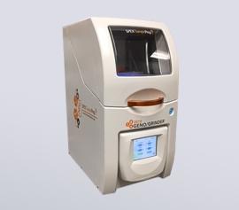 Zellaufschluss-Mühle SPEX 2010 Geno/Grinder® mit geschlossenem Deckel, betriebsbereit width=