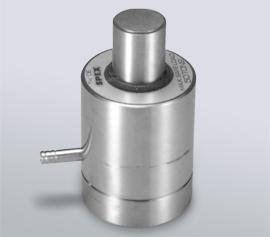 31mm Presswerkzeug aus Edelstahl bestehend aus: evakuierbarer Körper mit Unterteil, Pressstempel und Vakuumdichtung, zwei polierte Pressscheiben aus Stahl, Ausdrückring