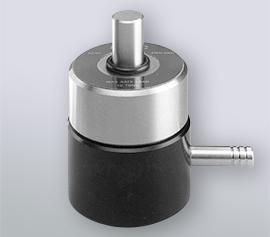 13mm Presswerkzeug aus Edelstahl bestehend aus: evakuierbarer Körper mit Unterteil, Pressstempel und Vakuumdichtung, zwei polierte Pressscheiben aus Stahl, Ausdrückring
