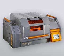 Katanax X-Fluxer® X-600 mit geschlossener Sicherheitstür, Profilansicht width=