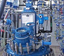 Stahl-emaillierte Normkessel (AE, BE) mit Buchi Glasaufbau, inkl. FDA Zertifikat