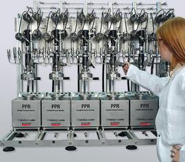 Parallel Druckreaktor System für Hydrierungen, Katalysator screening width=