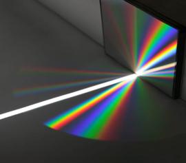 Richardson Grating Lab – spektrale Zerlegung mittels Beugungsgitter width=