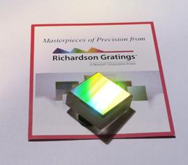 Richardson Grating Lab – Beugungsgitter mit Zertifikat width=