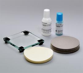 Polier Set zur Reinigung und zum Polieren von Arbeitselektroden