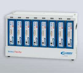 Gamry Interface 1010 8-Kanalpotentiostat; Grundgerät für die Gamry EISBox1010 und Load/Power-Supply Interface (LPI) Hochspannungs-Testsystem für elektrochemische Impedanzspektroskopie (EIS) bei 10V, 100V oder 1000V incl. schwebende Masse (galv. Trennung von der Schutzerdung)