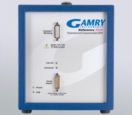 Gamry Reference 3000 Potentiostat/Galvanostat/ZRA für Korrosion (DC), Impedanzspektroskopie (EIS), Physikalische Elektrochemie (PHE), Pulsvoltammetrie (PV), Elektrochemisches Rauschen (ESA) und Elektrochemische Energie (PWR) incl. schwebende Masse (galv. Trennung von der Schutzerdung) width=