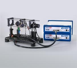 Gamry Interface1010 Bipotentiostat für Intensity Modulated Photocurrent Spectroscopy (IMPS) Intensity Modulated Photovoltage Spectroscopy (IMVS) an Solarzellen, Farbstoffsolarzellen und Photodioden incl. schwebende Masse (galv. Trennung von der Schutzerdung)