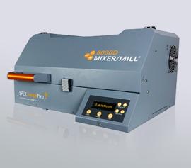 Hochenergie-Kugelmühle SPEX 8000D Mixer/Mill® mit geschlossenem Deckel, betriebsbereit width=