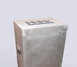 Calmetrix I-Cal Ultra Zementkalorimeter – zur Ermittlung von Hydratationswärmen von hydraulischen Bindemitteln; Komplettansicht