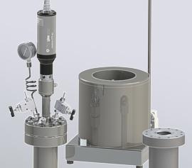 novoclave mit austauschbaren 500bar und 500°C Reaktoren