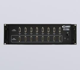 Gamry EIS Box 1010 für elektrochemische Impedanzspektroskopie (EIS) an bis zu 8 Zellen von 10 µHz bis 100 kHz incl. 8 x 3m Zellkabel-Sätze für Strom- und Spannungsmessung bis max. 80°C incl. schwebende Masse (galv. Trennung von der Schutzerdung)