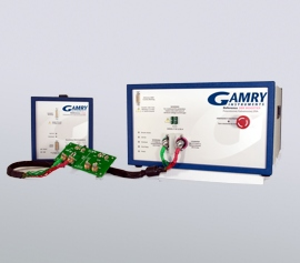 Gamry Reference 3000AE Potentiostat/Galvanostat/ZRA und Reference 30k Booster mit Test&Kalibrier-Dummy-Zelle (3mΩ&200mΩ) incl. schwebende Masse (galv. Trennung von der Schutzerdung)