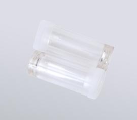 Zellaufschluss-Mühle SPEX 1200 GenoLyte® - 12ml Polycarbonat-Probenbehälter (Artikel-Nummer 6133PC-T), verstärkt, Einsatz von 2 Stück möglich