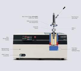 Thermtest THW-L1 Wärmeleitfähigkeitsmessgerät – Geräteaufbau Klick zum Vergrößern)
