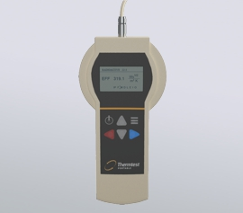Thermtest TPS-EF Messgerät – Frontansicht