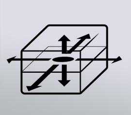 Mit der Hot Disk ist die Bestimmung der Wärmeleitfähigkeit auch an anisotropen Proben oder dünnen Filmen/Beschichtungen möglich