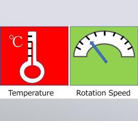Der Multi-Sensor ermittelt online Temperatur und Rotation im Mischbecher